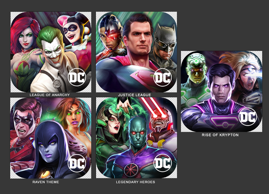 Injustice 2 ASO Icons