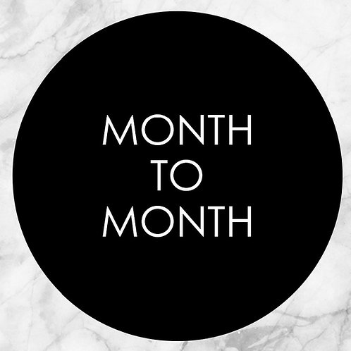 MONTH TO MONTH | Fitness Kickboxing Program