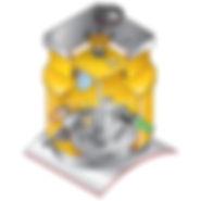 Шахта Fibrelite S8-376-CD