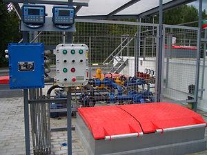 SAMPI S.p.A Liquid Controls Мобильный Топливный Блок Технологиии быстрой заправки Строительство АЗС и МАЗК