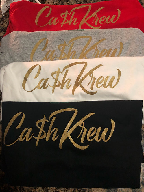 CA$HKREW V Neck T-Shirt