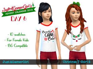 Christmas T Shirt 2 Sims 4 Cc