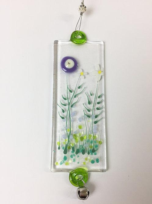 Glass Decorations - Purple Meadow