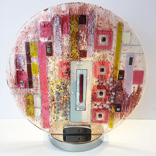 Lamps - Abstract Circle Pink