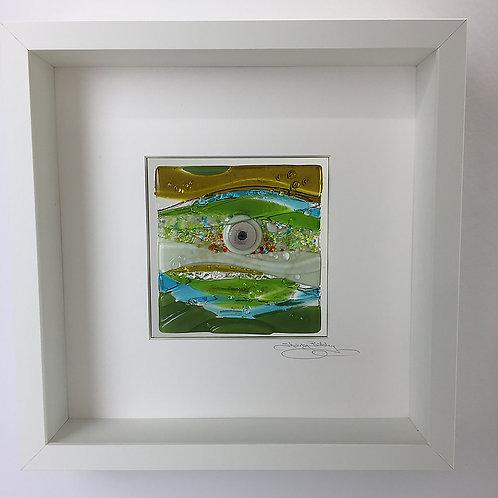 Box Frames - 'Lagoon' in Green