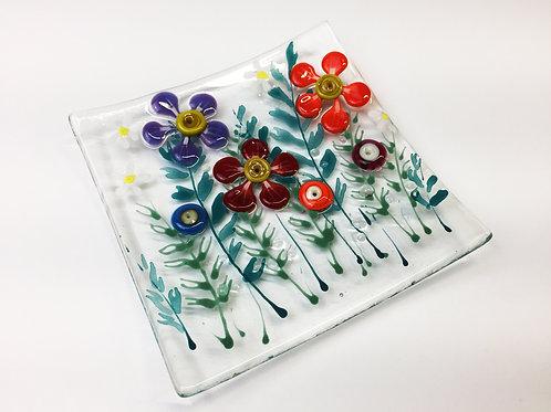 Jewellery Dish - Mixed Flower