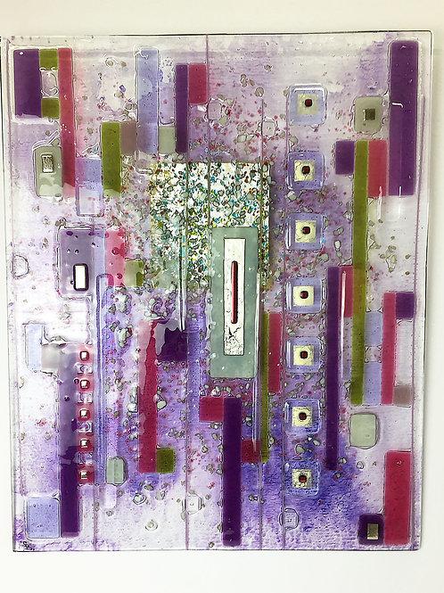 Large Fused Panels - Purple