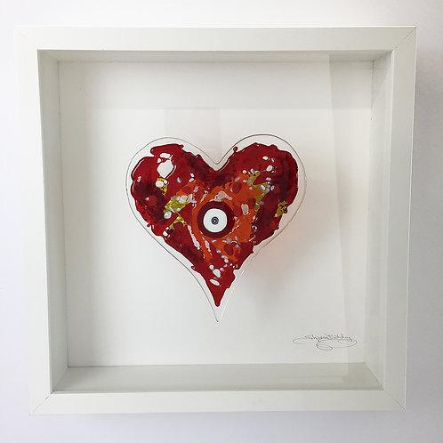Box Frames -Heart Red