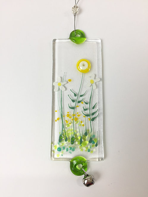 Glass Decorations - Yellow Meadow