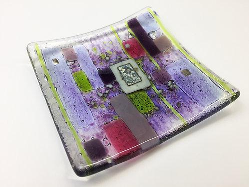 Jewellery Dish - Abstract Purple