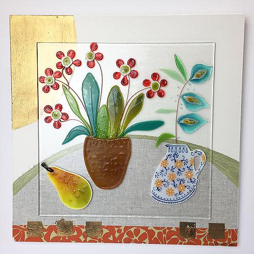 Large Still Life - 'Little Painted Jug'
