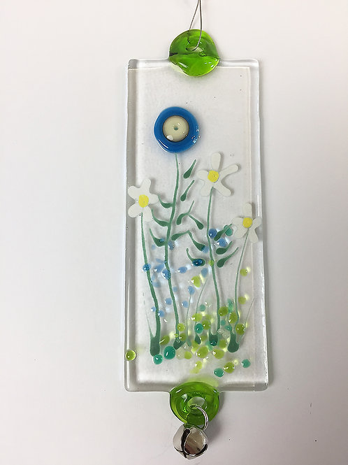 Glass Decorations - Blue Meadow
