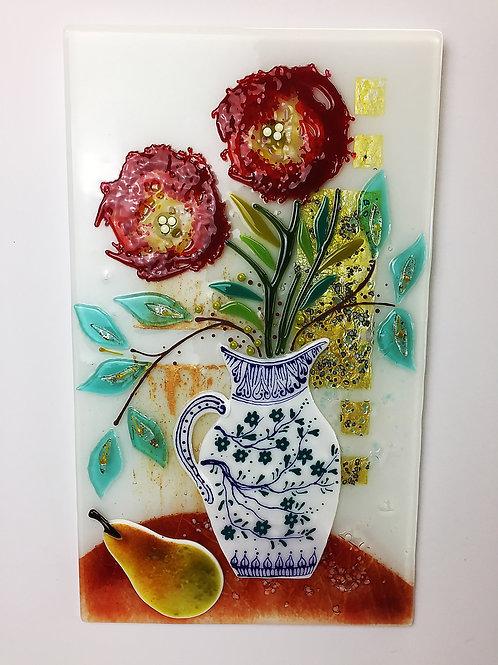 Large Still Life - 'Large White Vase'