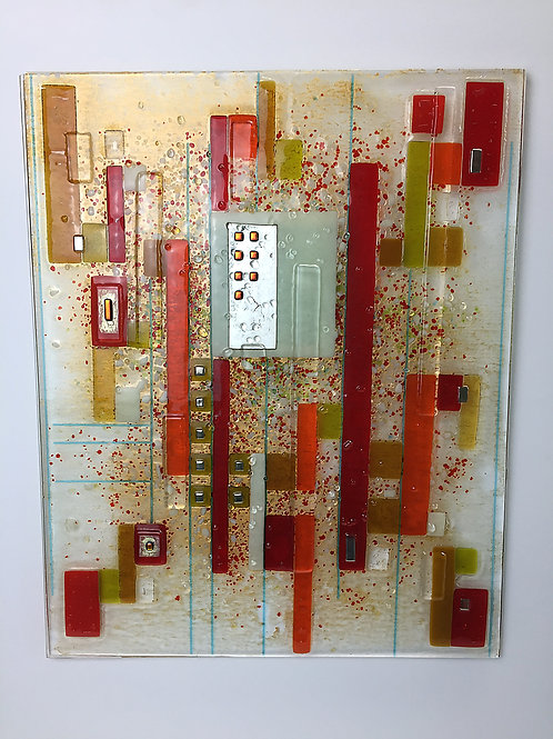 Large Fused Panels - Red