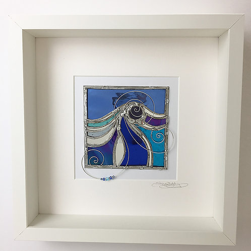 Box Frames - Stained Glass Blue
