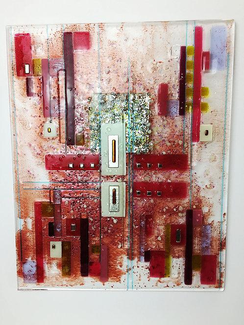 Large Fused Panels - Pink