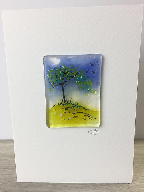 Handmade Cards - Tree