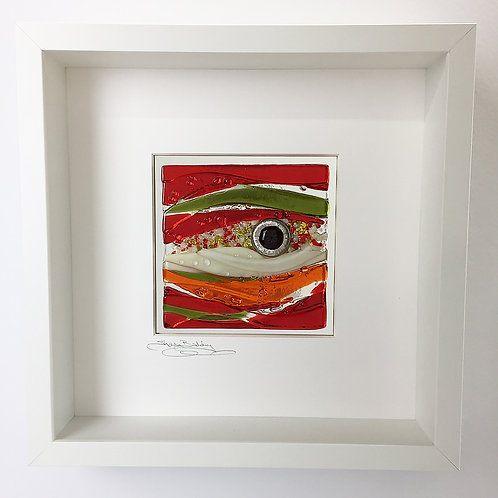 Box Frames - 'Lagoon' in Red