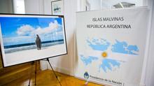 Islas Malvinas en la Embajada de Argentina en España
