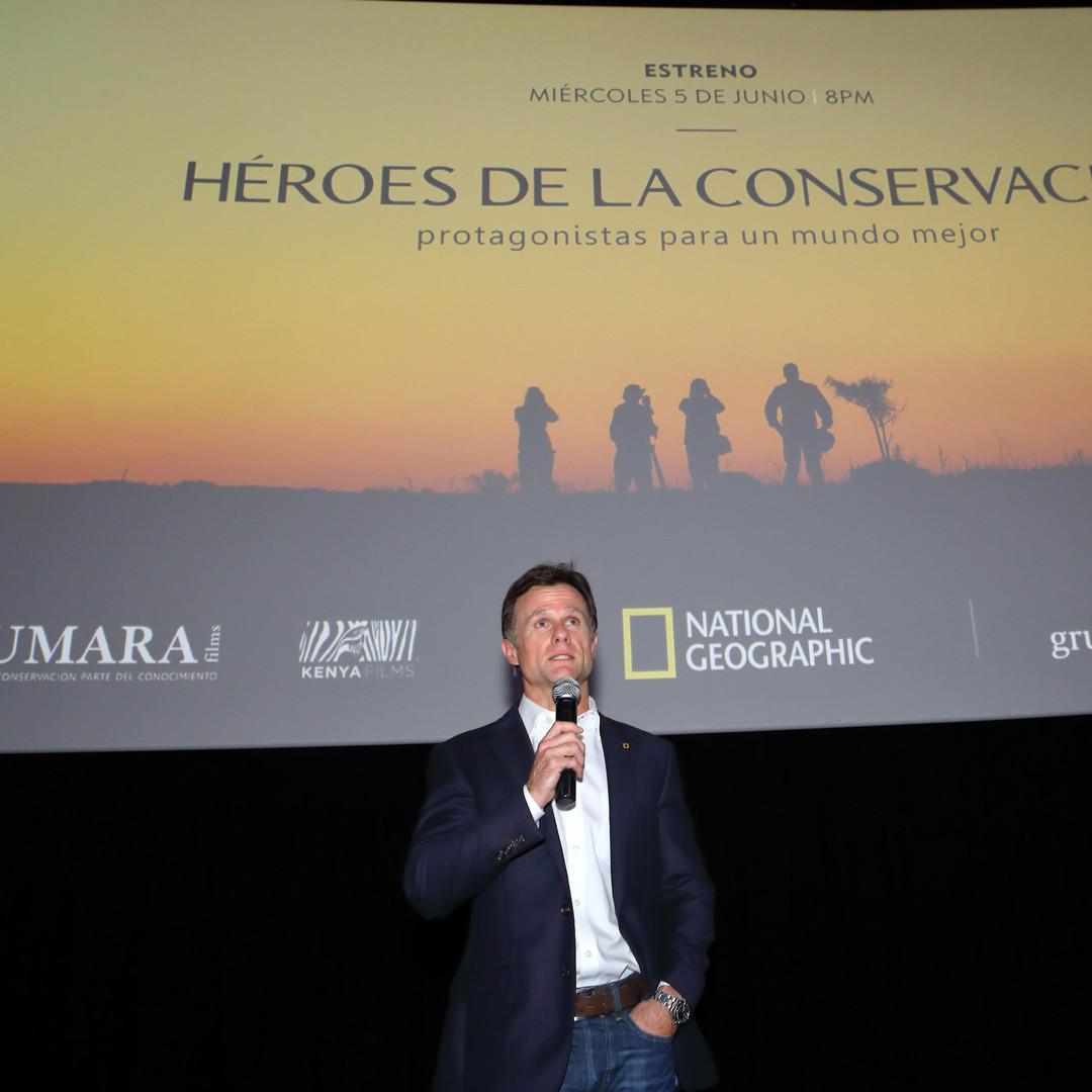 Presentación en Village Cines Recoleta - National Geographic