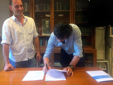 Convenio de Cooperación con  AVES ARGENTINAS