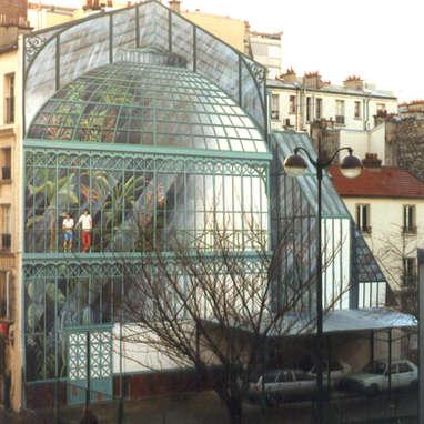 mur peint / Paris 11e