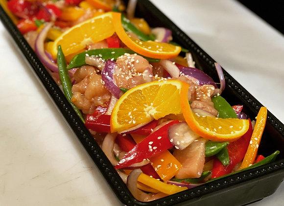 Orange Citrus Chicken Stir-Fry