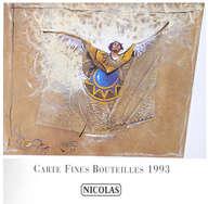 carte fines bouteilles Nicolas 1993