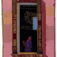 Venise collage plomb/étain 14,5 x 7 cm