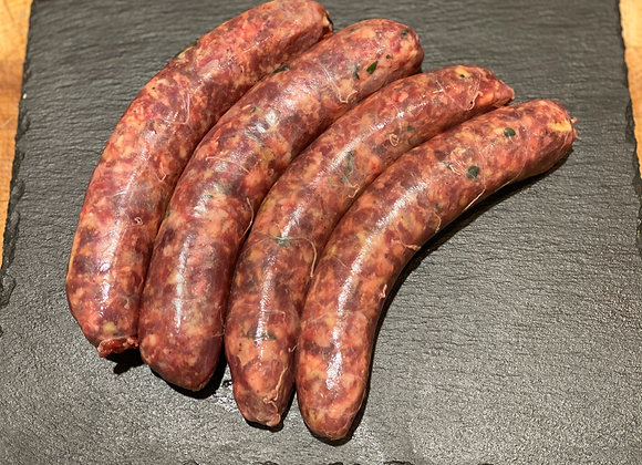 Bison Sausage