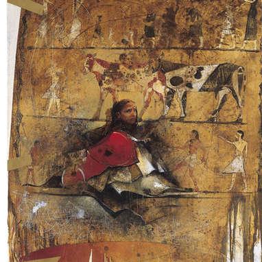 introspection / huile sur toile 162 x 130 cm