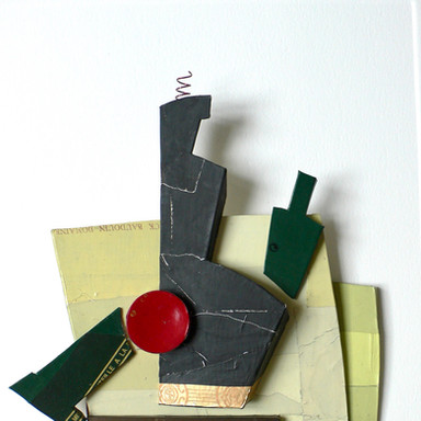sculpture plomb/étain 85 x 62 x 6 cm