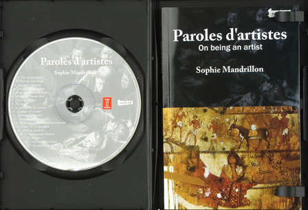 paroles d'artistes - 90 pages + CD