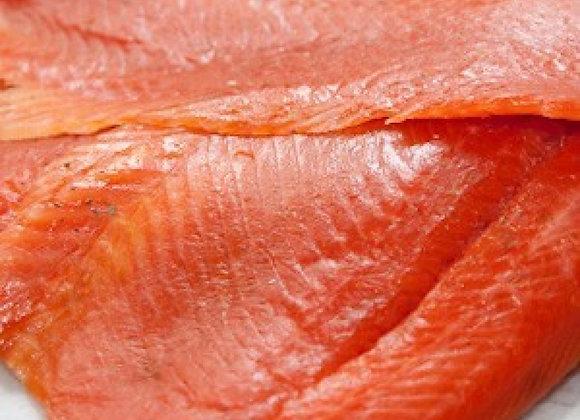 Smoked Pacific Salmon Wholesale Box