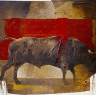 las tablas / huile sur toile 162 x 130 cm