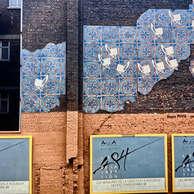 mur peint / 48 heures de la création - Roubaix