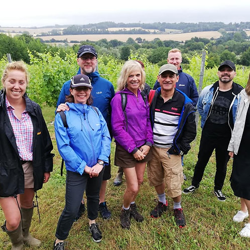7th August Chartham Food and Wine Tour including lunch/wine tasting