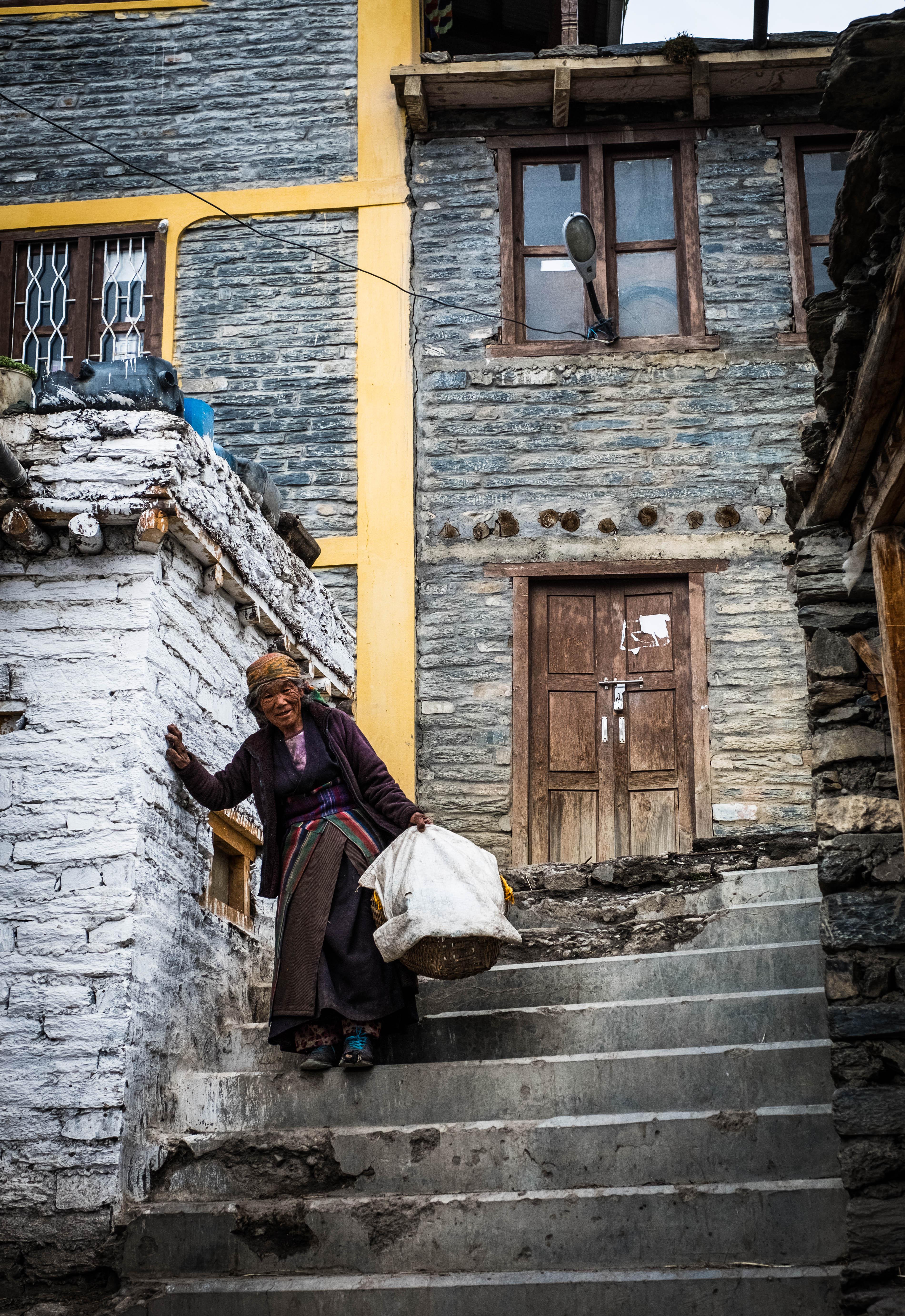Jharkot Woman