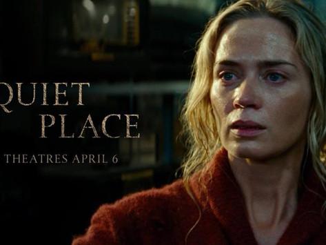 """""""A Quiet Place"""" - 4/13"""
