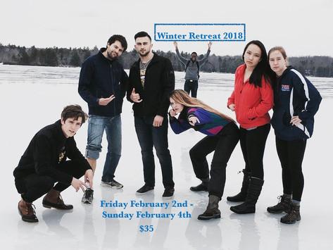PSC Winter Retreat! - 2/2-2/4
