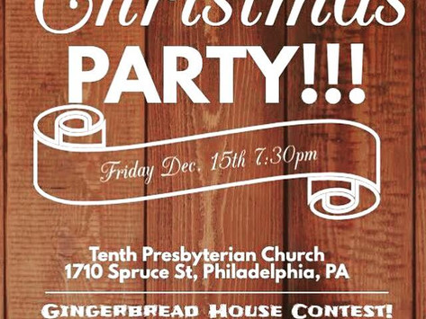 Christmas Party - 12/15