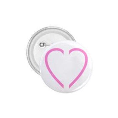 Glass Heart button