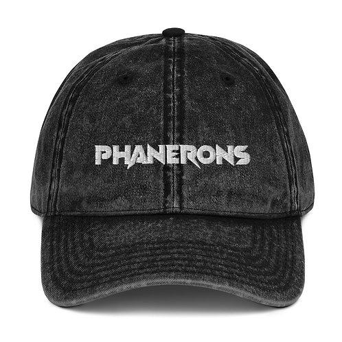 Phanerons Denim Cap