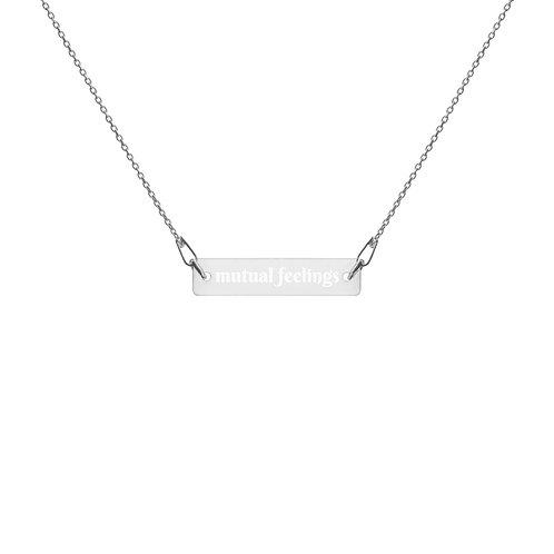 mutual feelings necklace