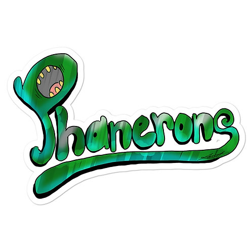 Phanerons Screaming Sticker