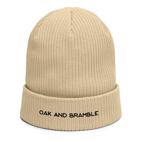 Oak and Bramble beanie