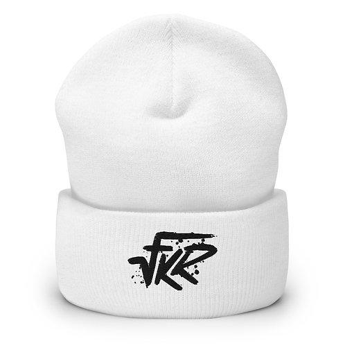 VFKR White Beanie