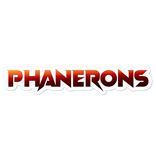 Phanerons Omega Sticker