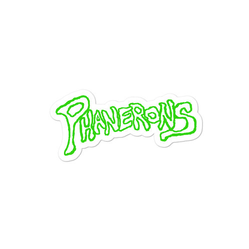 Phanerons Strych-Green Sticker