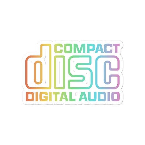 FUTURE FACES Compact Disc Sticker